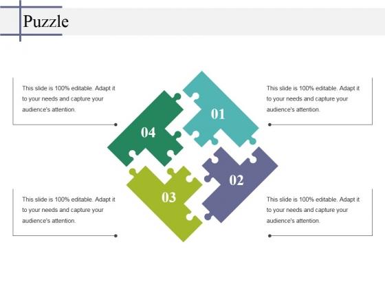 Puzzle Ppt PowerPoint Presentation Ideas Shapes