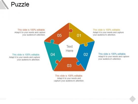Puzzle Ppt PowerPoint Presentation Infographics Deck