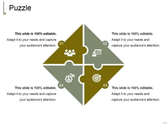 Puzzle Ppt PowerPoint Presentation Infographics Elements