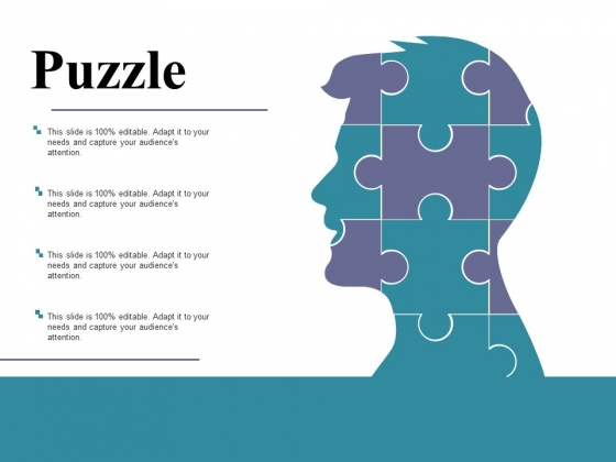 Puzzle Ppt PowerPoint Presentation Infographics Graphic Tips