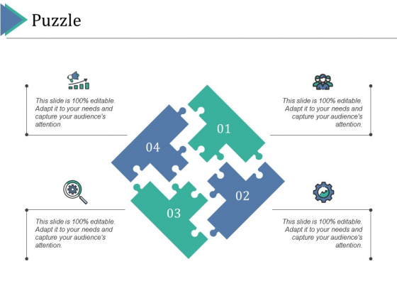 Puzzle Ppt PowerPoint Presentation Infographics Master Slide