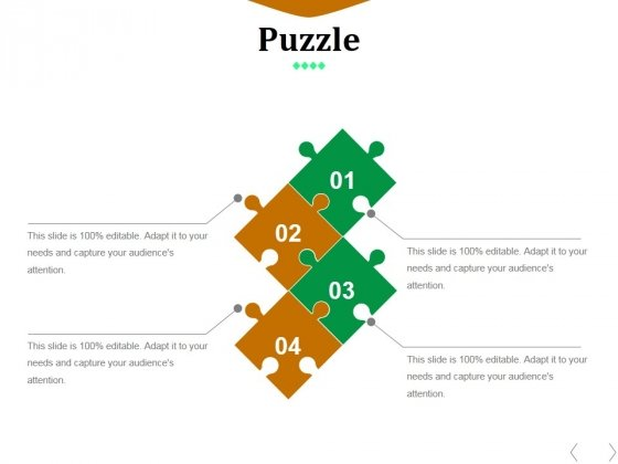 Puzzle Ppt PowerPoint Presentation Infographics Portrait