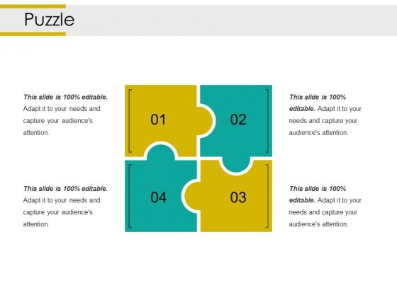 Puzzle Ppt PowerPoint Presentation Infographics Slide Portrait
