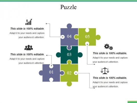 Puzzle Ppt PowerPoint Presentation Inspiration Format