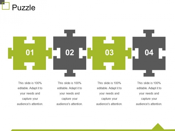 Puzzle Ppt PowerPoint Presentation Layouts Files