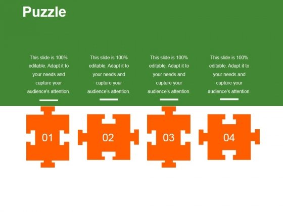 Puzzle Ppt PowerPoint Presentation Layouts Format Ideas