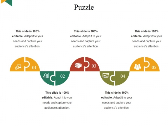 Puzzle Ppt PowerPoint Presentation Layouts Infographics