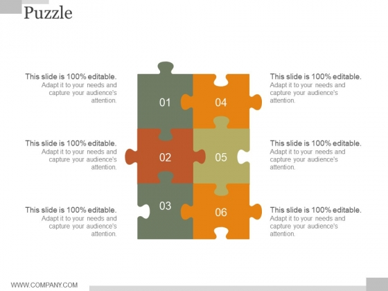Puzzle Ppt PowerPoint Presentation Microsoft