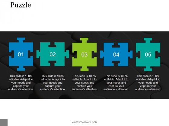 Puzzle Ppt PowerPoint Presentation Model
