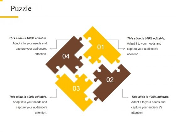 Puzzle Ppt PowerPoint Presentation Model Summary