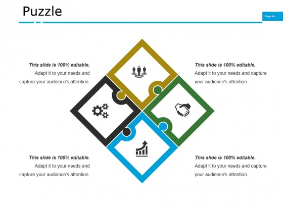 Puzzle Ppt PowerPoint Presentation Outline Files