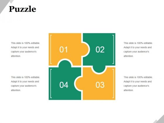 Puzzle Ppt PowerPoint Presentation Outline Microsoft