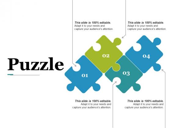 Puzzle Ppt PowerPoint Presentation Pictures Portrait