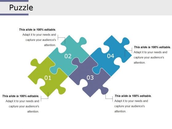 Puzzle Ppt PowerPoint Presentation Pictures Templates