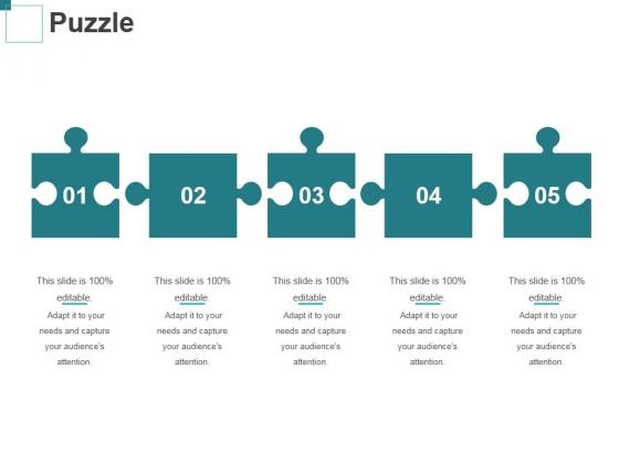 Puzzle Ppt PowerPoint Presentation Portfolio Brochure