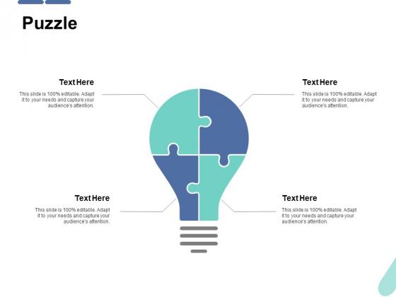 Puzzle Ppt PowerPoint Presentation Portfolio Example Topics