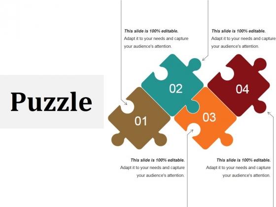 Puzzle Ppt PowerPoint Presentation Portfolio Format