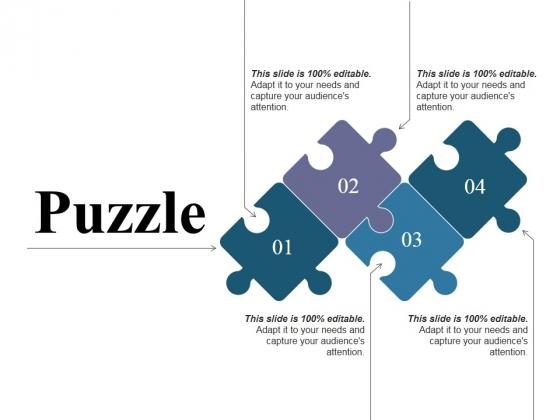 Puzzle Ppt PowerPoint Presentation Portfolio Graphics Template