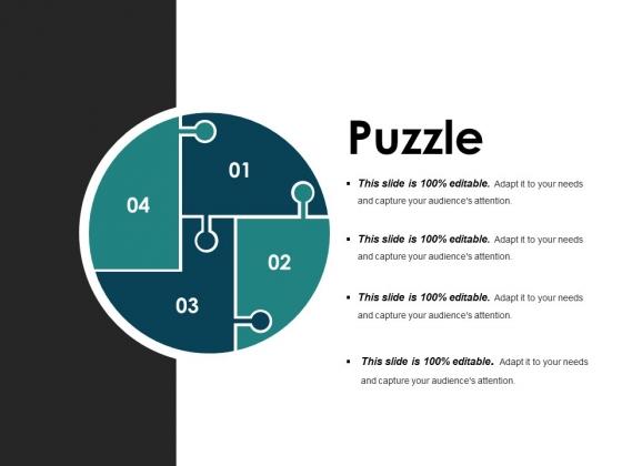 Puzzle Ppt PowerPoint Presentation Portfolio Grid