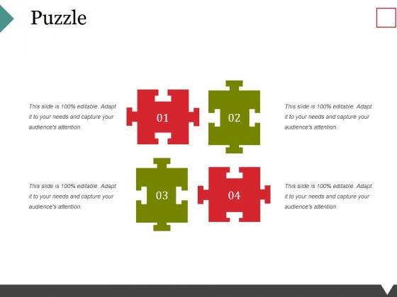Puzzle Ppt PowerPoint Presentation Portfolio Ideas