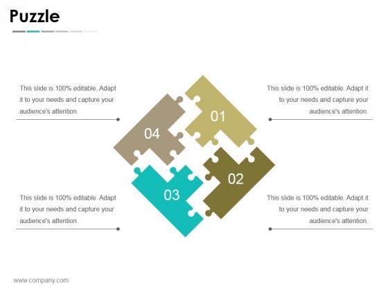 Puzzle Ppt PowerPoint Presentation Portfolio Layouts