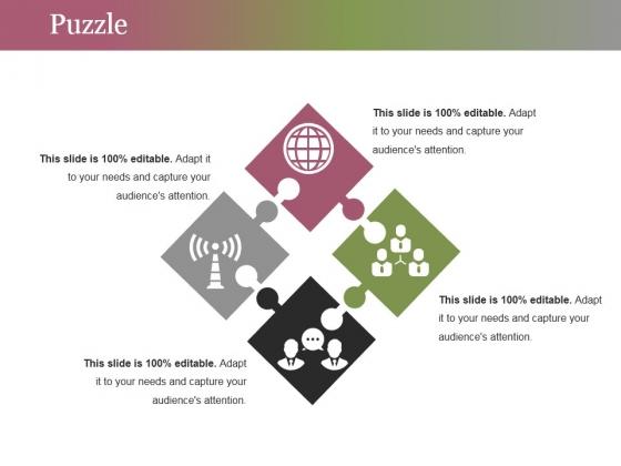 Puzzle Ppt PowerPoint Presentation Portfolio Maker