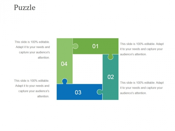 Puzzle Ppt PowerPoint Presentation Portfolio Master Slide