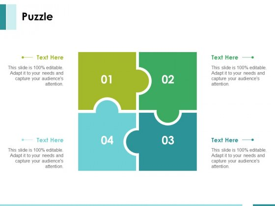 Puzzle Ppt PowerPoint Presentation Portfolio Samples