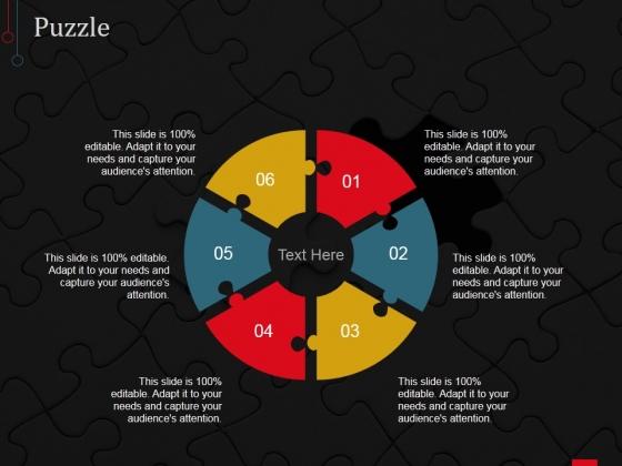 Puzzle Ppt PowerPoint Presentation Portfolio Show