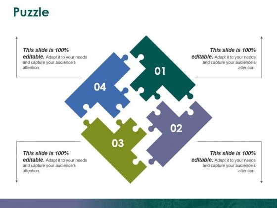 Puzzle Ppt PowerPoint Presentation Portfolio Skills