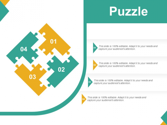 Puzzle Ppt PowerPoint Presentation Professional Gallery