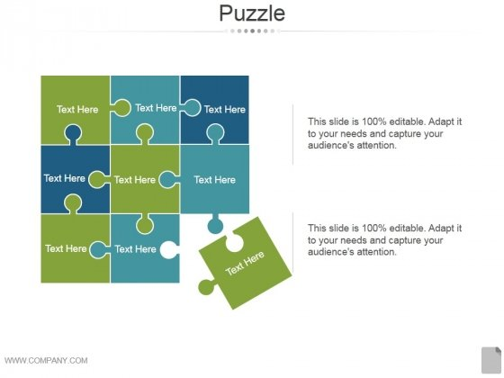 Puzzle Ppt PowerPoint Presentation Samples