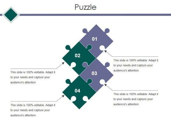 Puzzle Ppt PowerPoint Presentation Show Gridlines