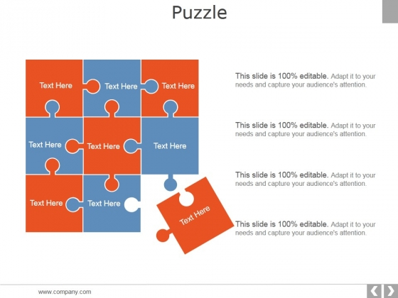 Puzzle Ppt PowerPoint Presentation Slides Demonstration