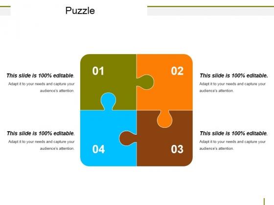 Puzzle Ppt PowerPoint Presentation Slides Master Slide