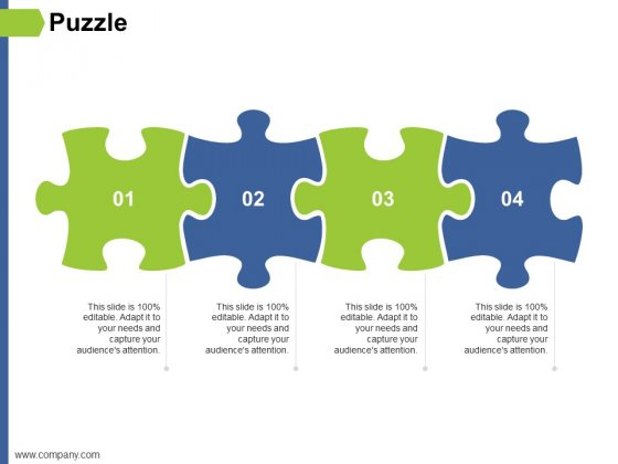 Puzzle Ppt PowerPoint Presentation Slides Objects