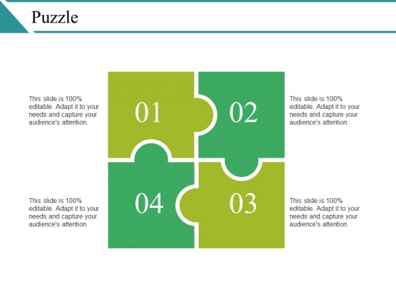Puzzle Ppt PowerPoint Presentation Slides Show
