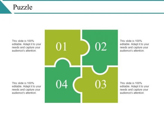 Puzzle Ppt PowerPoint Presentation Slides Show