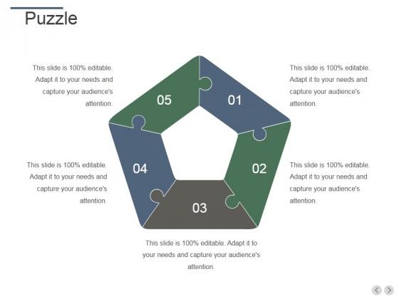 Puzzle Ppt PowerPoint Presentation Slides Topics