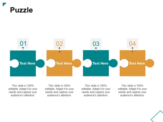 Puzzle Ppt PowerPoint Presentation Styles Model