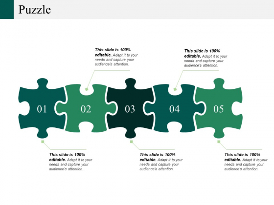 Puzzle Ppt PowerPoint Presentation Styles Slide Download
