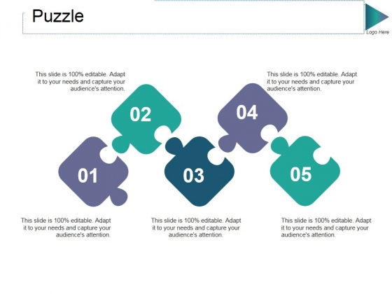 Puzzle Ppt PowerPoint Presentation Summary Deck