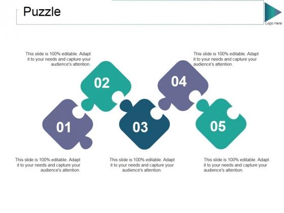 Puzzle Ppt PowerPoint Presentation Summary Deck