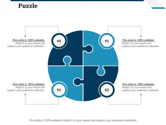 Puzzle Ppt PowerPoint Presentation Summary Format