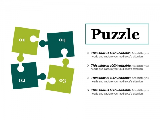 Puzzle Ppt PowerPoint Presentation Summary Structure