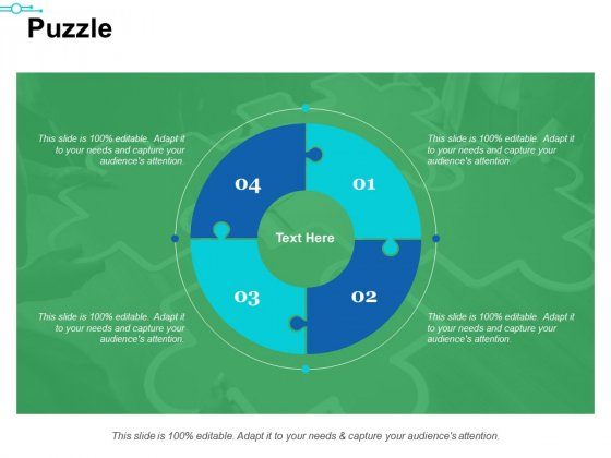 Puzzle Ppt PowerPoint Presentation Summary Templates