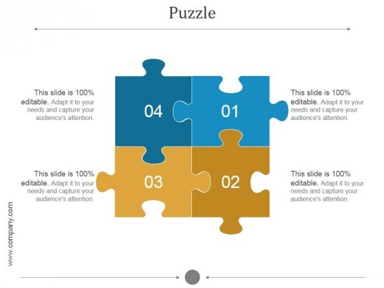 ppt puzzle template
