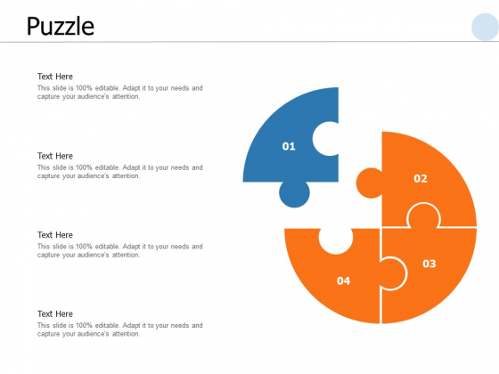 Puzzle Problem Ppt PowerPoint Presentation Summary Example