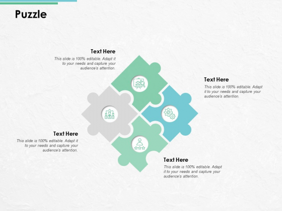 Puzzle Problem Solution Ppt PowerPoint Presentation Icon Infographics