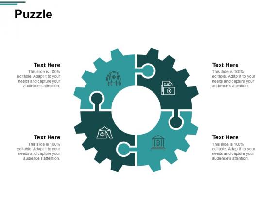 Puzzle Problem Solution Ppt PowerPoint Presentation Inspiration Slide